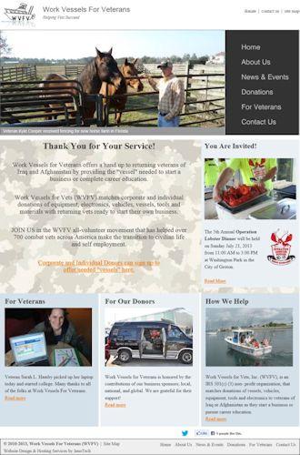 Work Vessels For Veterans, Mystic CT