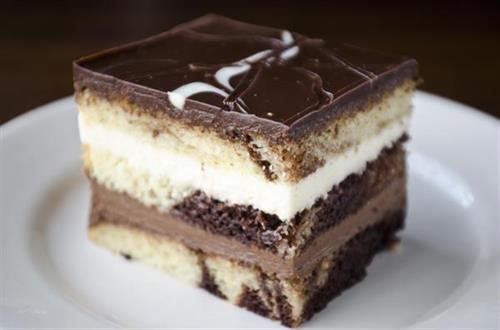 Tuxedo Chocolate Cake