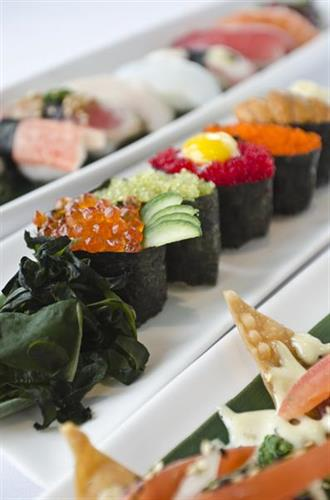 Sushi Selection - Nigiri & Tokyo Nachos