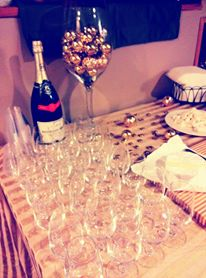In House Bubbles and Brie Tasting December 2013
