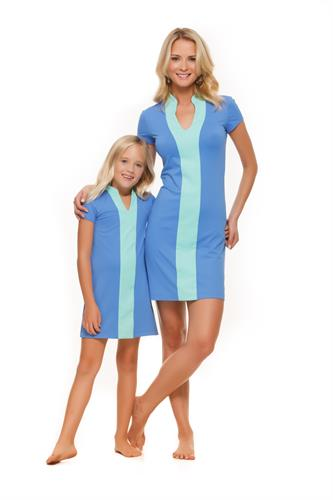 Matching women and girl's dresses available in most designs