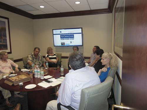 Blatt Financial Group's monthly roundtable discussions.