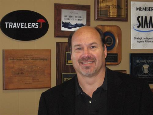 Bill O'Neal, owner, Commercial Lines