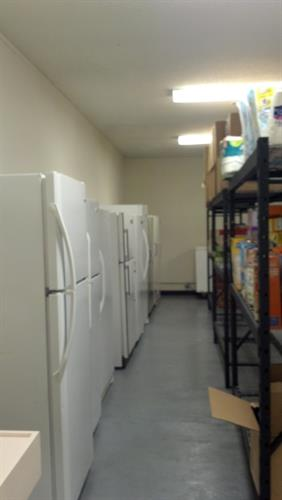Food Pantry Refrigeration and Freezer Units