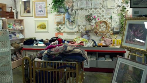 Thrift Store Sales Floor