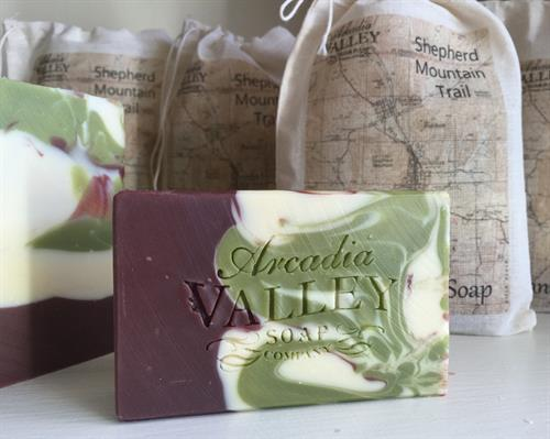 Shepherd Mountain Trail Handmade Soap