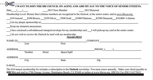HBCOA Membership Application