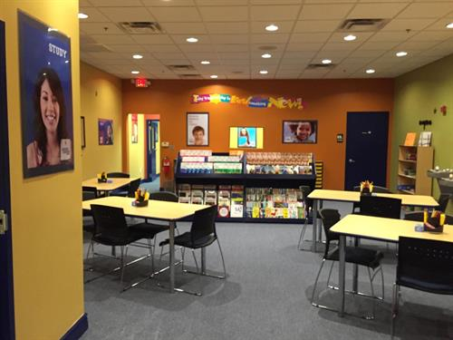 A peak into our core tutoring area. This is where success happens!