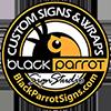 Black Parrot Sign Studio