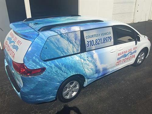 Vehicle Wraps - Toyota