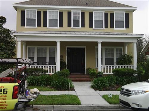 Exterior Painting, Long Leaf Community