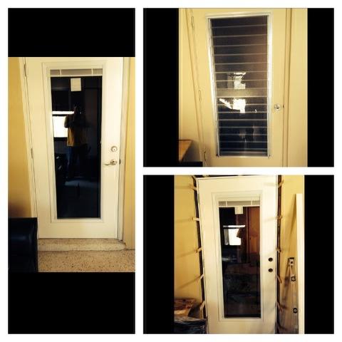 Patio Door Replacement w/ mini blind insert