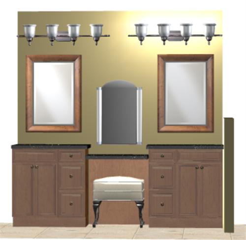 3D rendering - Bathroom