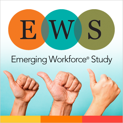 Emerging Workforce Study-Researching work place trends every year