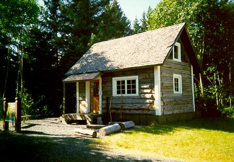 Historic Harrington Homestead Cabin