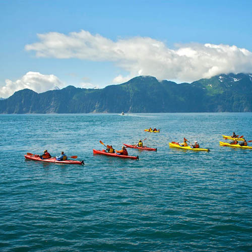 Cruise & Kayak Combo packages available