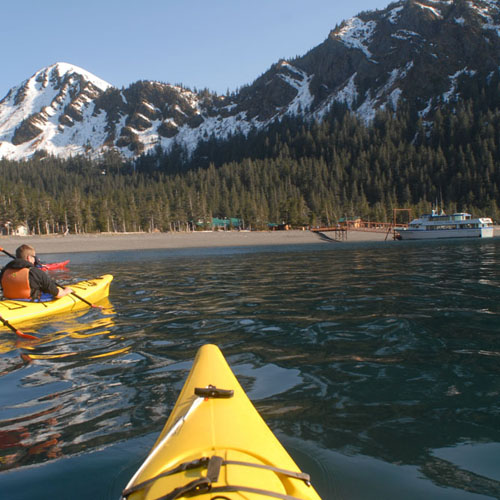 Cruise & Kayaking packages are available