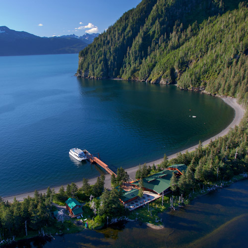 Packages with overnights on Fox Island at the Kenai Fjords Wilderness Lodge are available