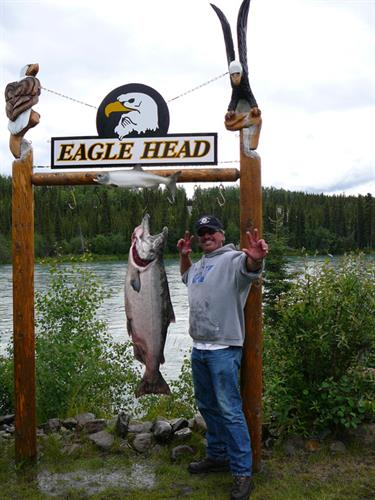 Kenai River King salmon