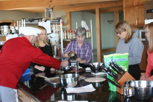 Cooking Classes at aksupperclub with Chef Paul Warner
