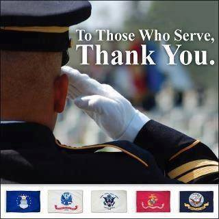 Thank You! to our Military