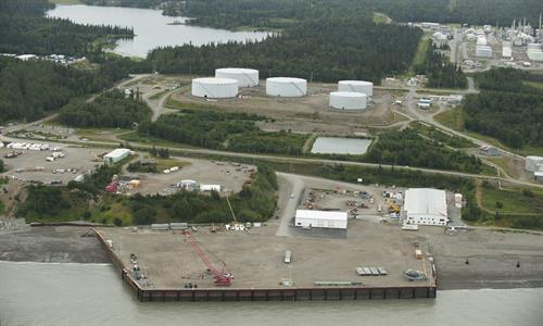 Rig Tenders Marine Terminal & Fabrication Facility - Mile 22.5 Kenai Spur Hwy