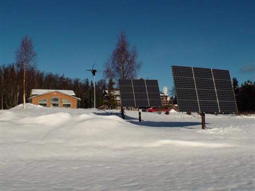CAEC office and renewable energy project.