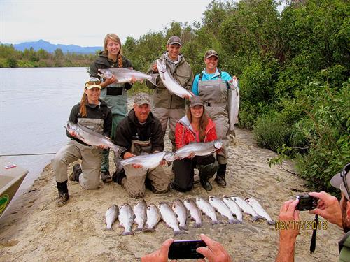 Silver Salmon Extravaganza!!!