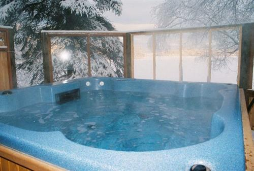 Lakeside hottub