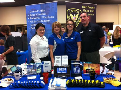Lofton crew at the 2013 Livingston Parish Expo.