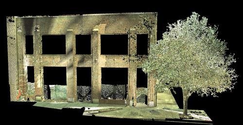 3D Laser Scanner Image