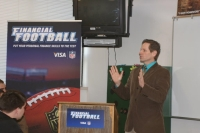 Financial Football Kickoff at Vallivue HS - April 2, 2013