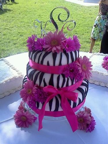 Special wedding cake design