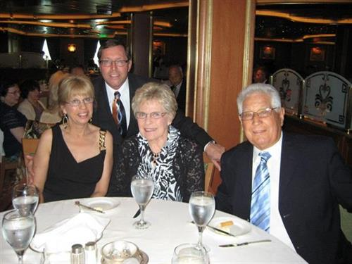 Russ and Cathy McCrea, Jim and Carolyn Kling