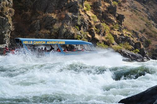 Jet Boat Adventures - South Entrace into Hells Canyon