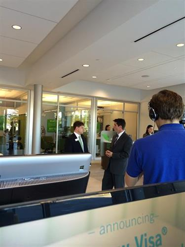 Live interviews with WACH for the Sandhill Grand Opening.