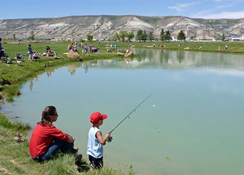Take a Kid Fishing Day in Rock Springs