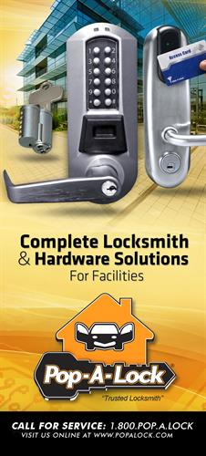 Your Locksmith solution for facility management.