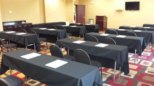 1,000 Square foot meeting space