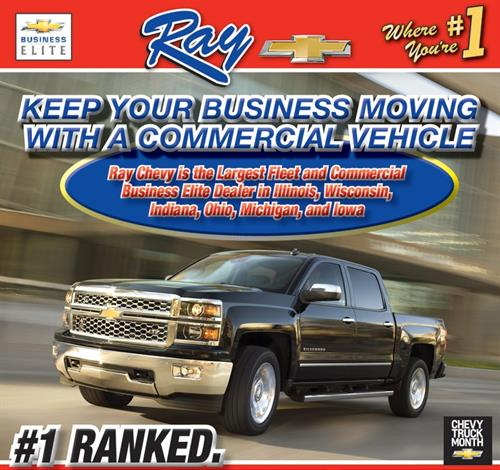 #1 Fleet/Commercial Dealer in the North Central Region