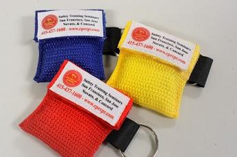 Free CPR Keychain Masks
