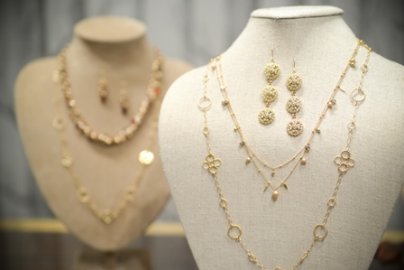 Hand made jewelry from Rebekah Brooks