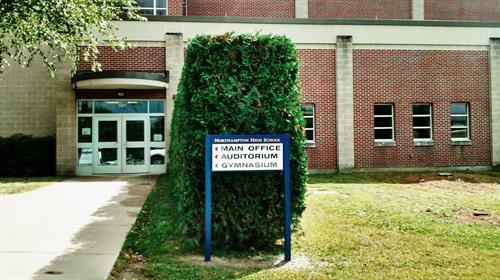 Northampton High School directionals, Northampton, MA