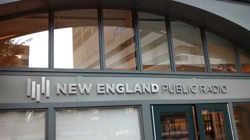 New England Public Radio entrance, Springfield, MA