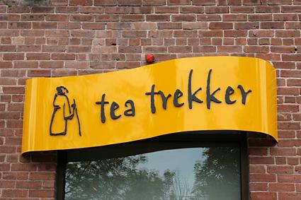 Entryway to Tea Trekker, Northampton, MA