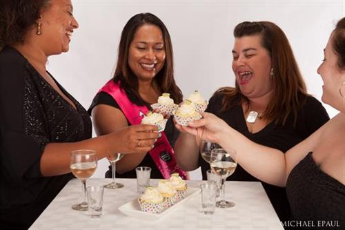Cheers! Order any of our Sassy Cupcakes for your next event.