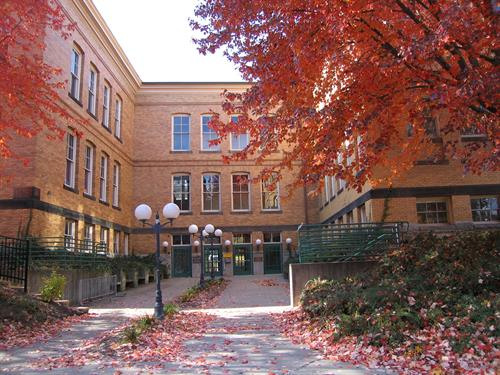 Our school is located in downtown Northampton across from the Academy of Music