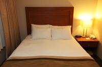1 Bedroom Suite Sleeping Area