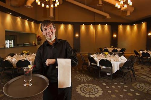 The Elegant VEE Banquet Room