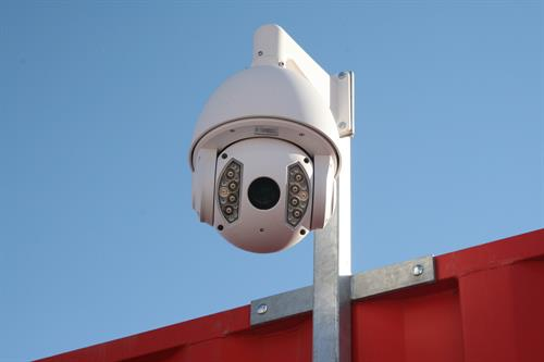 24-hour digital video recording and monitored digital access-control systems.